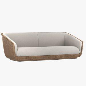 modena porta forma sofa 3d obj