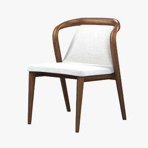 3d model of chair dining