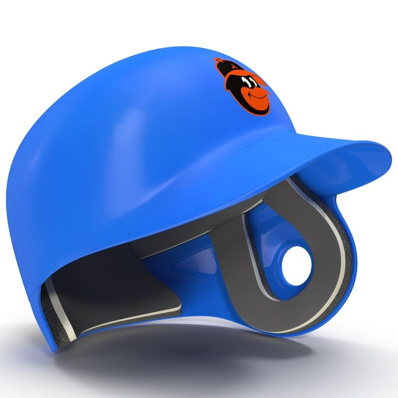 3d batting helmet