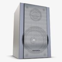 music center speaker obj
