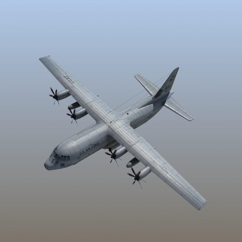 c130j hercules transport aircraft max