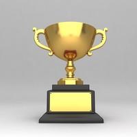 awards trophies 3d fbx