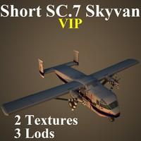 short sc 7 vip 3d x