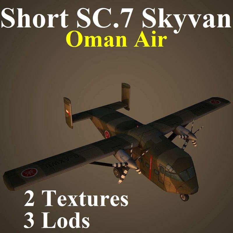 short sc 7 oma 3d model