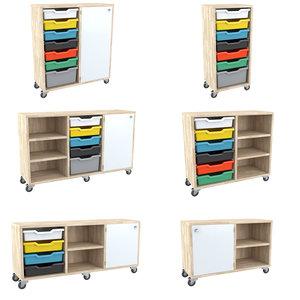 3d osku cabinets modular model