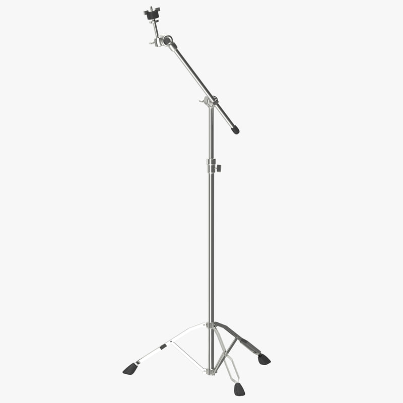 Cymbal Stand 3d model 00.jpg