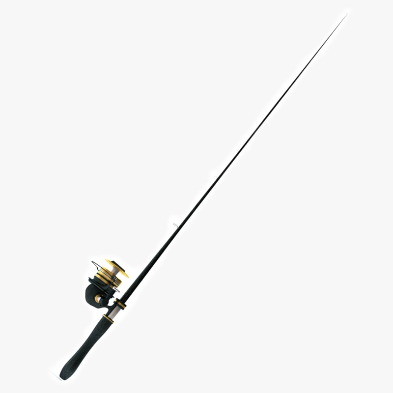 fishing pole 3d 3ds