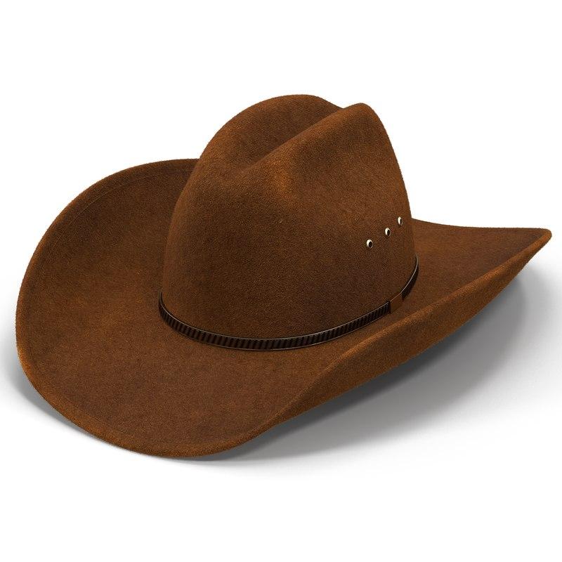 35fa6b59538 3d cowboy hat