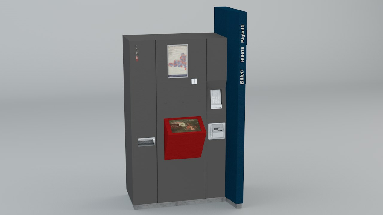ticket vending 3d 3ds