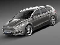 Ford Mondeo 2013 wagon