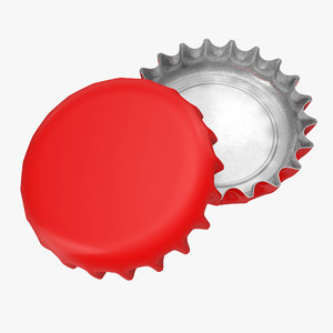 3d model of new bottle cap