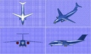 Antonov An-178 Transport Aircraft Solid Assembly Model