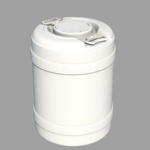 3d water container