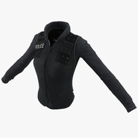3d swat woman uniform 7