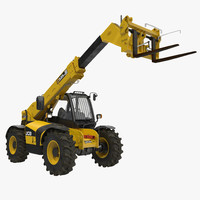 Telescopic Handler Forklift JCB 535 95 Yellow 3