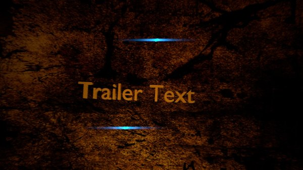 free blend model trailer text