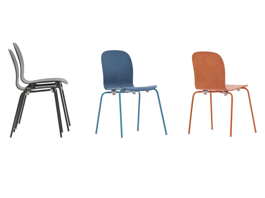 free c4d model chair tate color