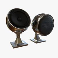 wifi speaker ball 3d model