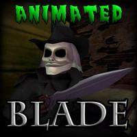 3d model blade puppet master