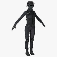 swat woman unifirm 2 max