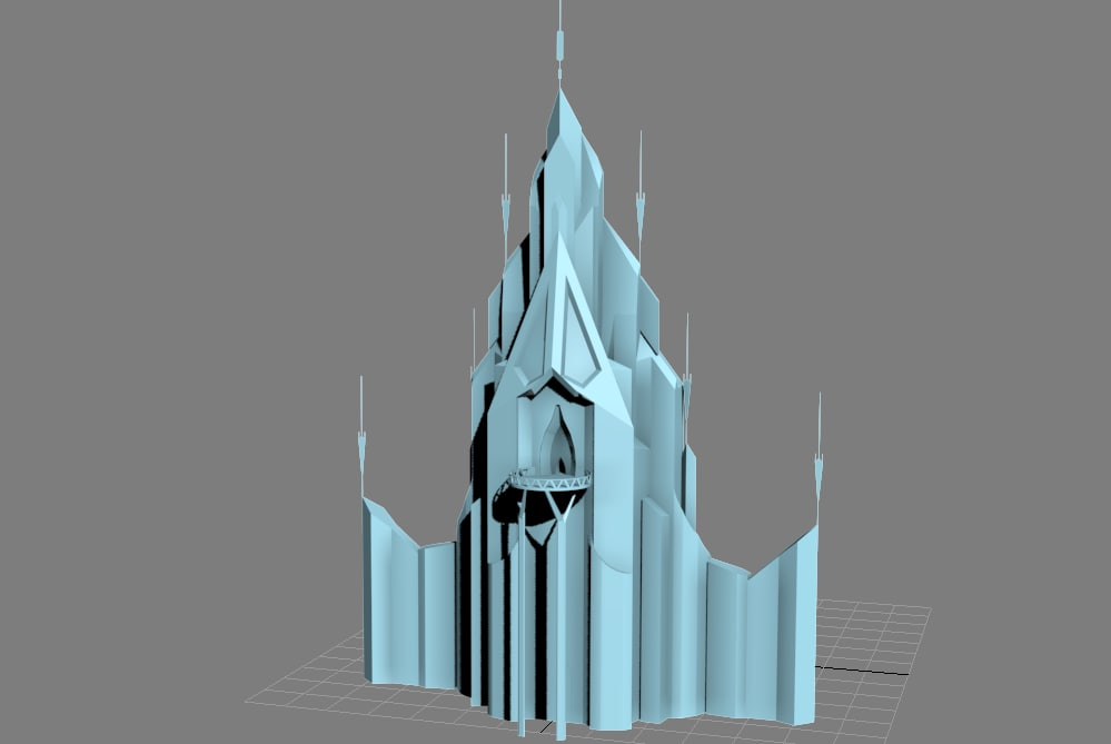 max elsa s ice palace