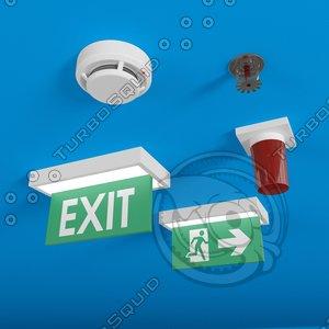 exit sign max
