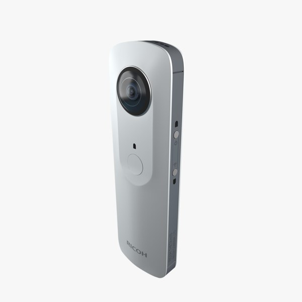 3ds max ricoh theta 360° camera