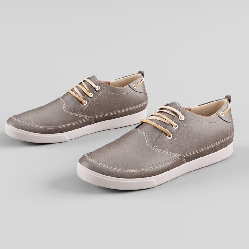 3d shoes model