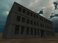 maya derelict building