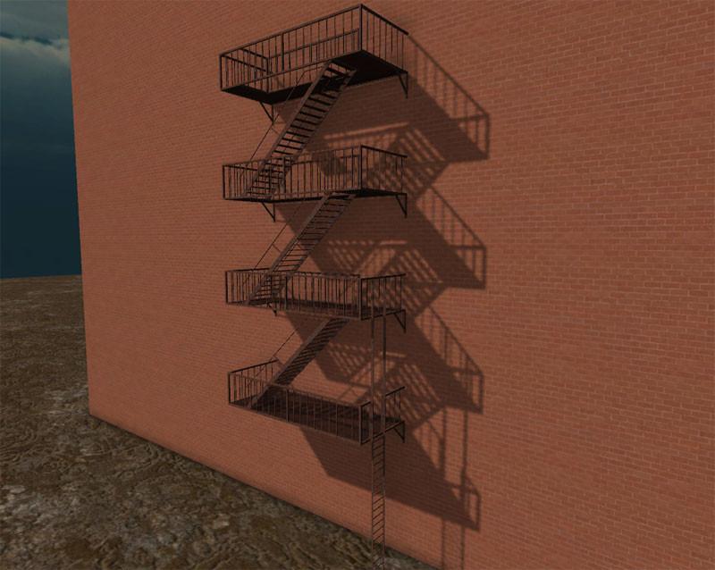 3d model of escape props