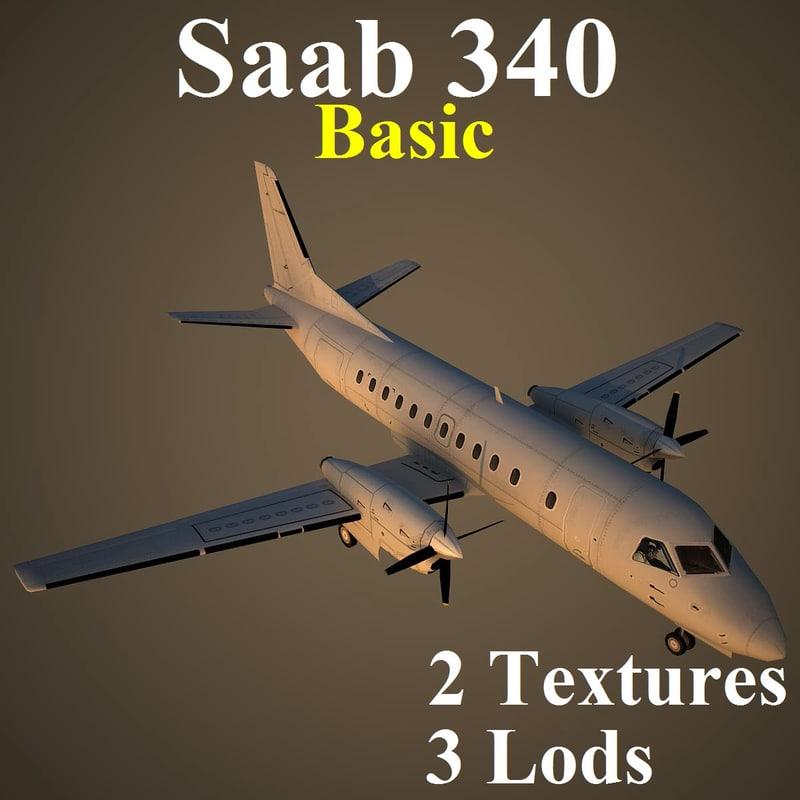 max saab 340 basic