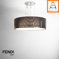 Groundhog 3D Models | Fendi Casa Orione lamp