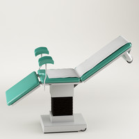 3d model of table surgical