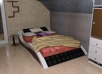 3dsmax pillow sheet