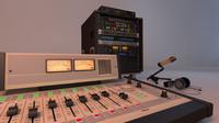c4d radio station