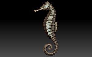 seahorse 3d 3ds