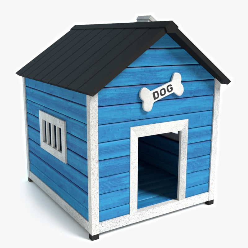 3d 3ds dog house