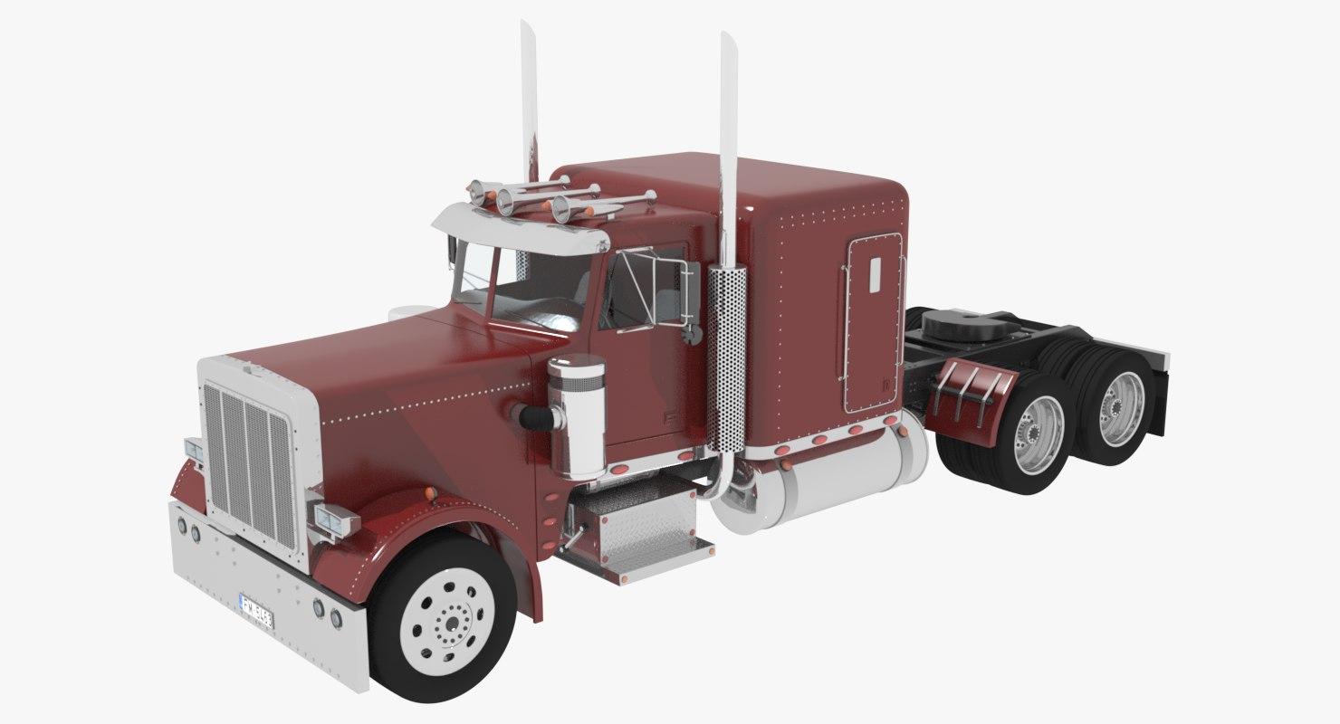 truck cab 3d model