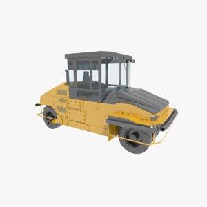 3d pneumatic roller model