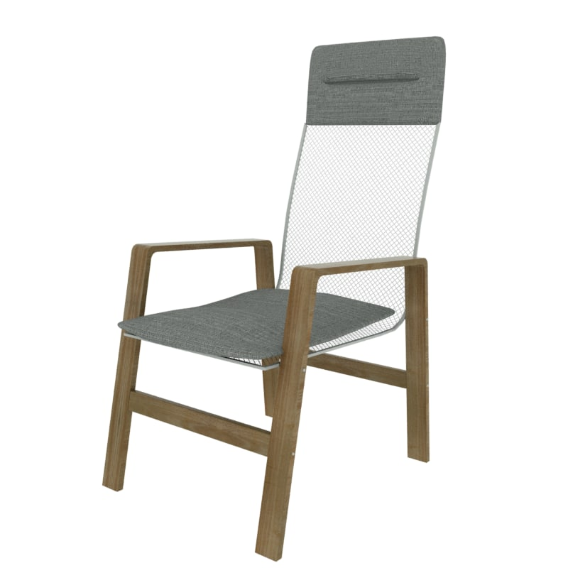 3d model ikea nolbyn armchair