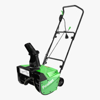 3d electric snow blower poulan