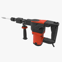 3d electric demolition jack hammer