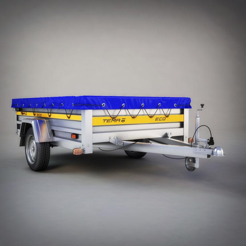 3d utility trailer