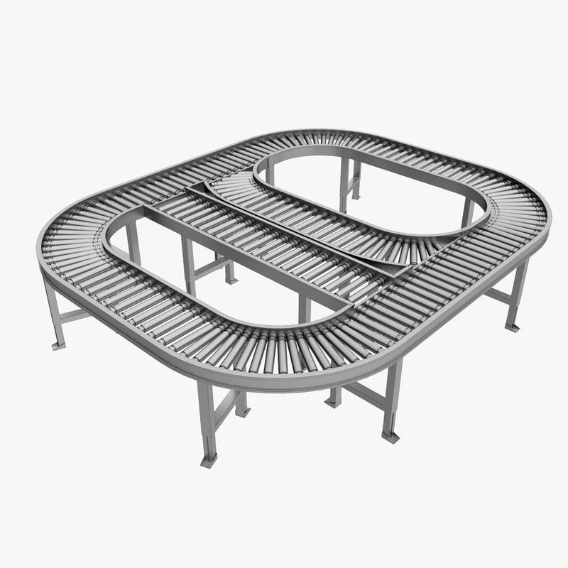 3dsmax conveyor