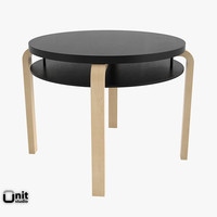 artek table 907b 3d model