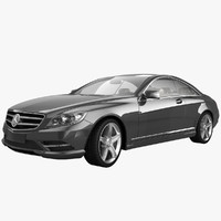 3d 2011 mercedes benz cl