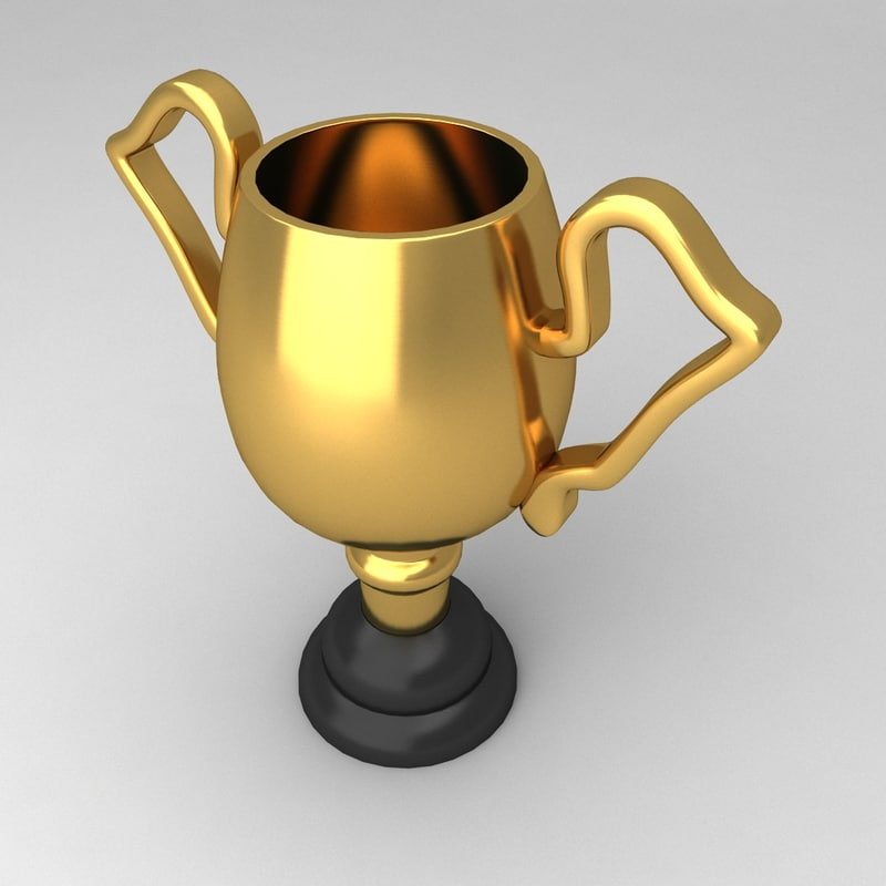 3d awards trophies