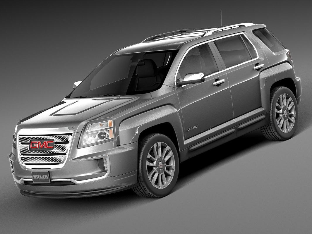 3d model 2016 terrain gm
