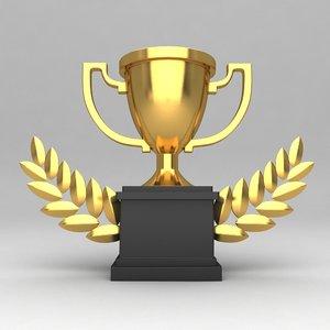 awards trophies obj
