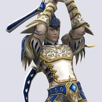 3ds battlerage elf rangers -